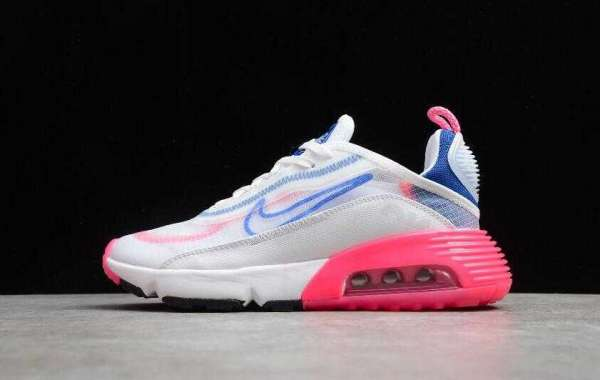 Nike Air Max 2090 White Blue Pink Unveils for 2020 Holiday