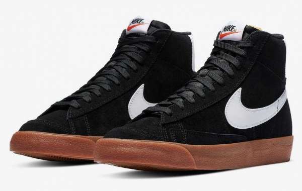 Nike Blazer Mid'77 Black Gum Will Arrive on Nov 18th, 2020