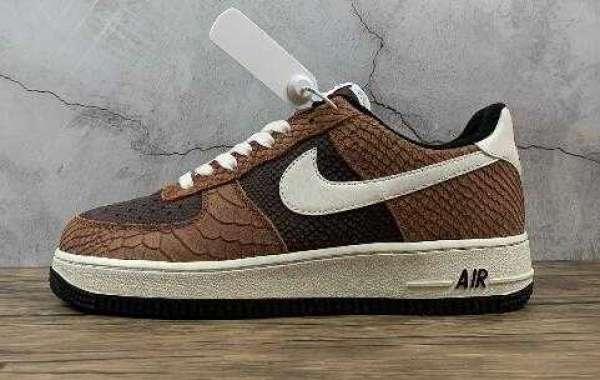 Shop Nike Air Force 1 Prm Red Bark Sail Earth On Sneakerheads2020