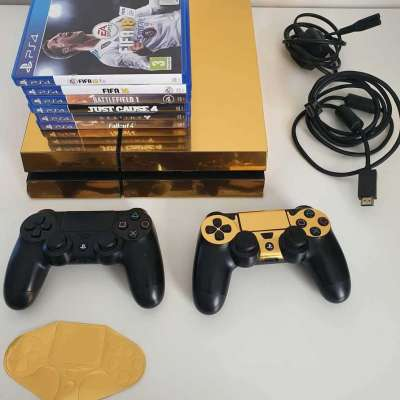 PS4 500GB with 6 games Profile Picture